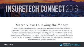Macro View Following the Money