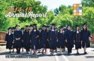 Cristo Rey Annual Report 2014-15