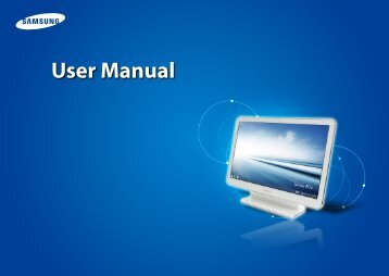 """Samsung ATIV One 5 Style (21.5"""" Full HD Touch / AMD Quad-Core) - DP515A2G-K01US - User Manual (Windows8.1) (ENGLISH)"""