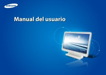 """Samsung ATIV One 5 Style (21.5"""" Full HD Touch / AMD Quad-Core) - DP515A2G-K01US - User Manual (Windows8.1) ver. 1.2 (SPANISH,17.82 MB)"""