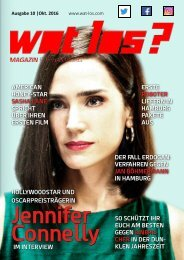 Wat Los? / Ausgabe 10 - 2016