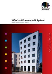WDVS – Dämmen mit System - Malermeister Engler