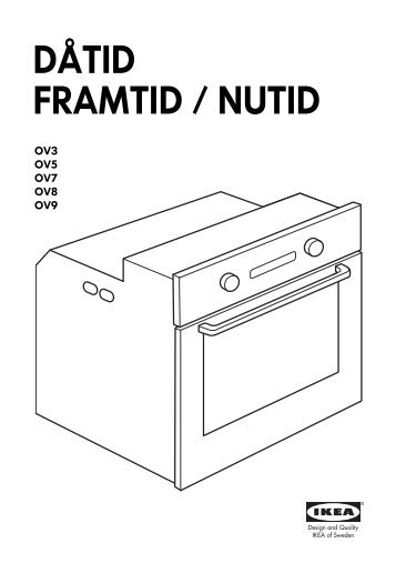 KitchenAid OVN 908 S - Oven - OVN 908 S - Oven FI (857923201000) Installazione