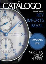 Catálogo Rey Imports Brasil