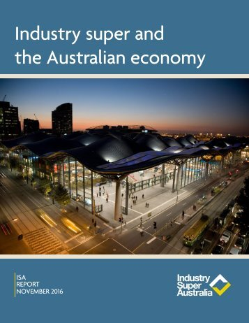 Industry super and the Australian economy