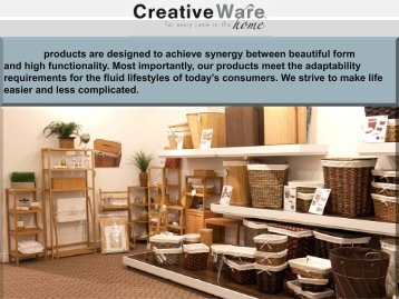 CreativeWare Home Oct
