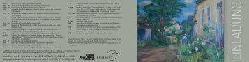 Einladung - Radebeul