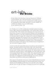art-info art-info - Hatje Cantz Verlag
