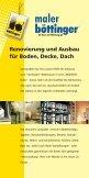 "Broschüre ""Maler.pdf"" - Böttinger - Maler · Werbung - Page 5"