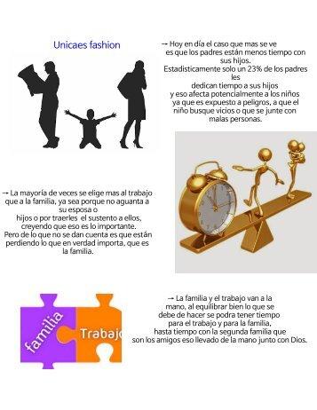 Trabajo y familia (Ética social)