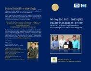 ISO 9001 2015 Training Certification Consulting Auditing Orlando Florida