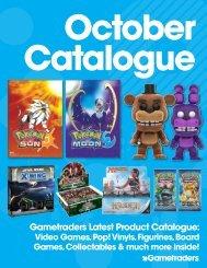 Gametraders October Catalogue