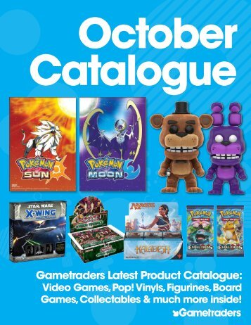 Gametraders October Catalogue