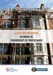 LA GESTIÓN PREVENTIVA EN OBRAS DE COMUNIDADES DE PROPIETARIOS