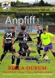Anpfiff_2016-10-29 - DJK Lechhausen