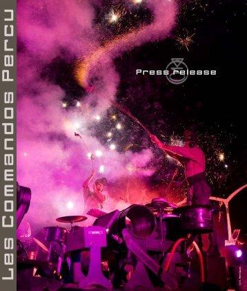 Press-release_Les-Commandos-Percu