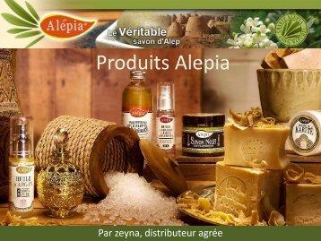 catalogue zeyna Produits ALEPIA pdf 28 10 2016