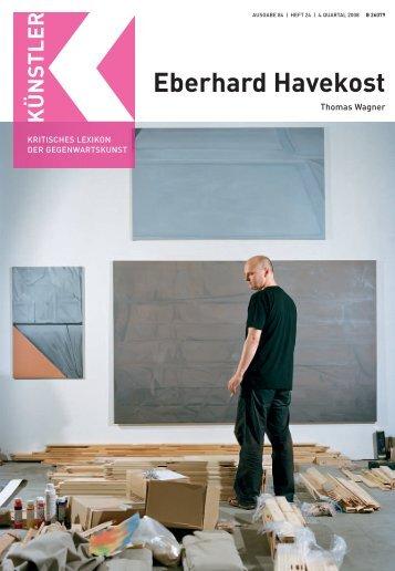 Eberhard Havekost - Weltkunst