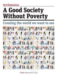A Good Society Without Poverty