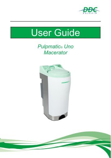 User Guide Pulpmatic Uno V2.1