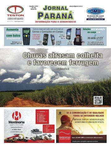Jornal Paraná Setembro 2015