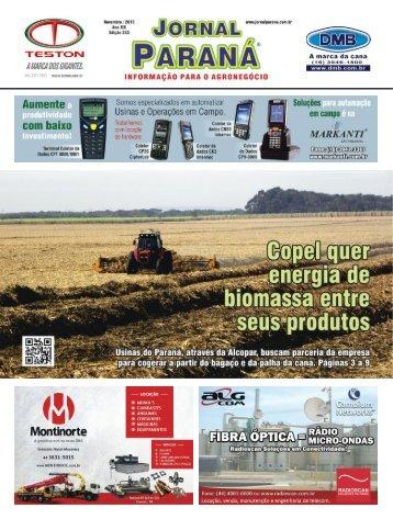 Jornal Paraná Novembro 2015