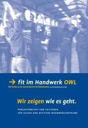 fit im Handwerk OWL - Handwerkskammer Ostwestfalen-Lippe zu ...