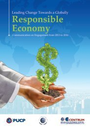 Leading Change Towards a Globally Responsible Economy