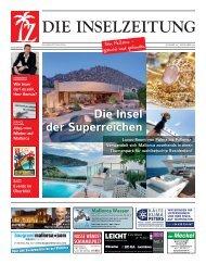 Die Inselzeitung Mallorca November 2016