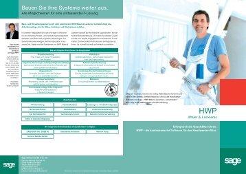 HWP Maler & Lackierer - WEKO INFORMATIK GmbH