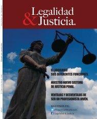 REVISTA LEGALIDAD Y JUSTICIA NOV DIC