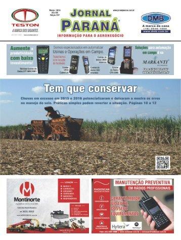Jornal Paraná Março 2016