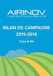 Bilan de campagne 2015-2016