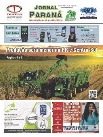Jornal Paraná Outubro 2016