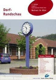 Dorf- Rundschau - Theodor Fliedner Stiftung
