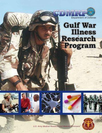 Research Advisory Committee on Gulf War Veterans' Illnesses