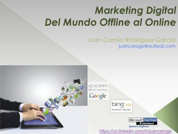 Marketing Digital Del Mundo Offline al Online