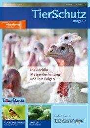 Industrielle Massentierhaltung und ihre Folgen - TierSchutzVerein ...