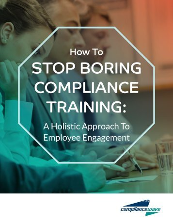 STOP BORING COMPLIANCE TRAINING