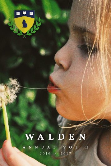 The Walden Annual Volume 2