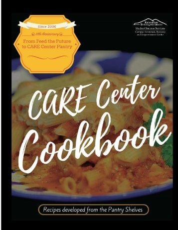 Care Center Cookbook