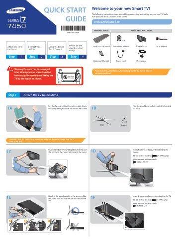 samsung smart tv 8000 series user manual