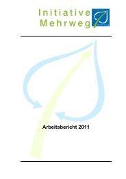 120411_SIM_Arbeitsbericht 2011 - Stiftung Initiative Mehrweg