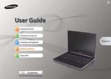 "Samsung Series 6 Notebook (14.0"" HD / Core™ i5) - NP600B4C-A01US - User Manual (Windows 7) (ENGLISH)"
