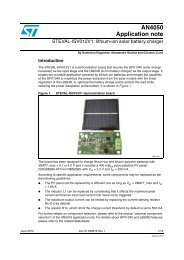 lithium-ion solar battery charger - STMicroelectronics