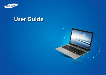 "Samsung ATIV Book 2 (15.6"" HD / Core™ i5) - NP270E5E-K03US - User Manual (Windows8.1) ver. 2.4 (ENGLISH,23.3 MB)"