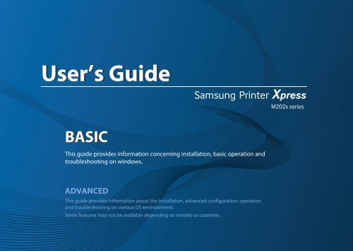 Samsung Printer M2020w Software Download For Mac