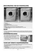 KitchenAid PRESTIGE 1460 - Washing machine - PRESTIGE 1460 - Washing machine NL (858362820000) Istruzioni per l'Uso - Page 4