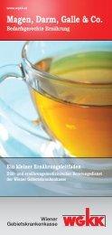 Magen, Darm, Galle & Co. - Wiener Gebietskrankenkasse