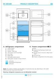 KitchenAid DPA 311 R/G - Fridge/freezer combination - DPA 311 R/G - Fridge/freezer combination EN (853940638010) Guide de consultation rapide